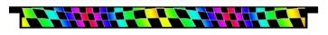 Multi Colour Cheq Plank