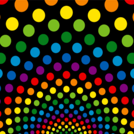 Multi Colour Spot Design