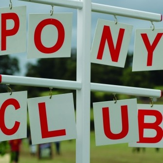 Pony Club Letter Set