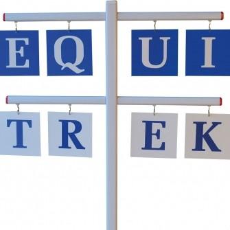 EQUI-TREK Letter Set