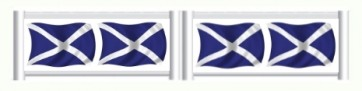 Scottish Flag Standing Filler