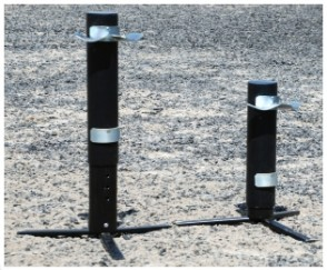 Telescopic Show Jump Stands