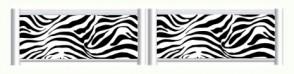 Zebra Standing Filler