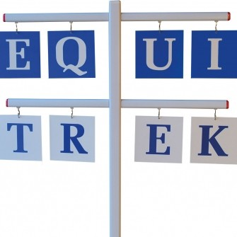 EQUI-TREK Letter Set