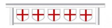 St George's Flag Hanging Filler