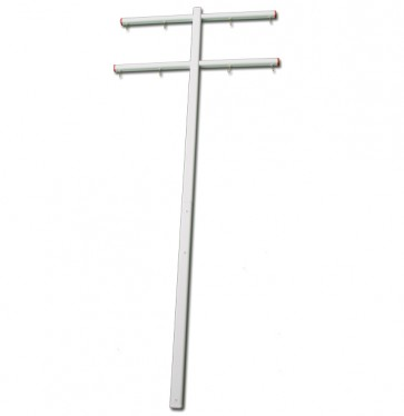 7ft PC Race Gibbet with 8 Hooks