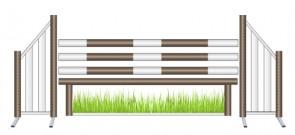 Green Grass Working Hunter Jump