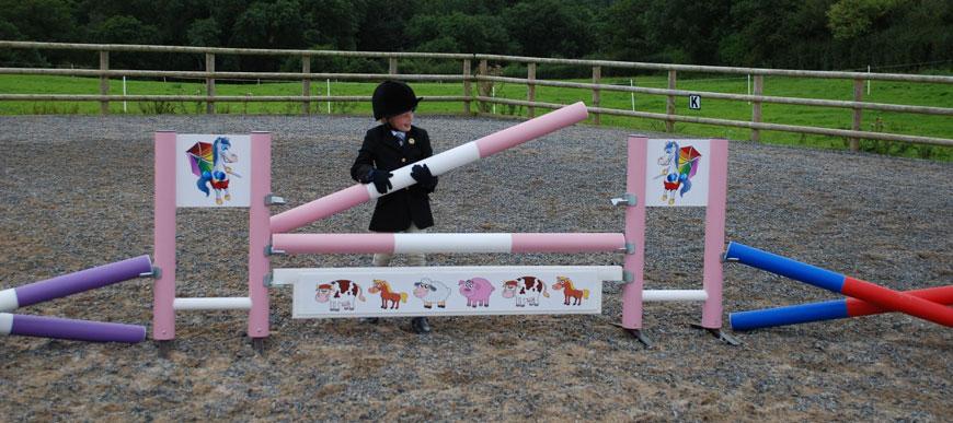 Kids jump range